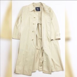 Vintage Burberry Trench/Overcoat Jacket
